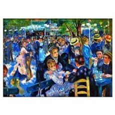 Renoir: Dance At Le Moulin De La Galette Wall Art Poster