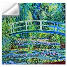 Monet - Water Lily Pond Wall Art Wall Decal