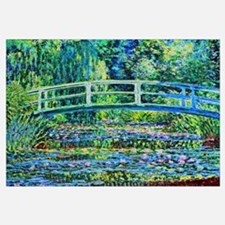 Monet - Water Lily Pond Wall Art