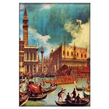 Canaletto: Bucentaurs Return To Palazzo Wall Art