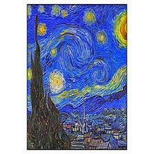 Van Gogh: The Starry Night Wall Art