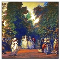 Gainsborough - Mall In St. James's Park Wall Art Poster