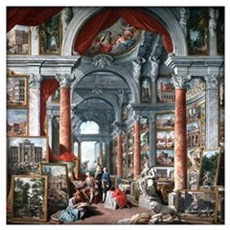 Giovanni Paolo Pannini - Gallery Of Wall Art Poster