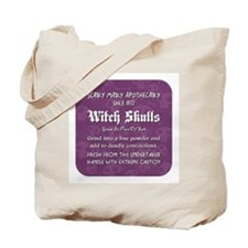 WITCH SKULLS Tote Bag