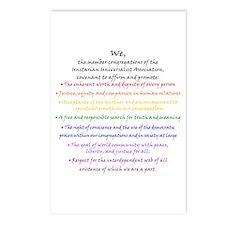 Rainbow Principles Postcards (Package of 8)