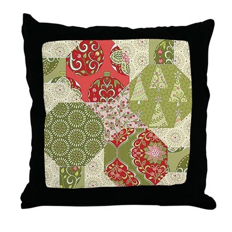 Free Throw Pillow Quilt Pattern : Christmas Quilt Pattern Throw Pillow by listing-store-120910017