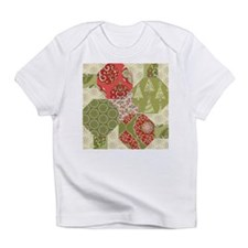 Christmas Quilt Pattern Infant T-Shirt