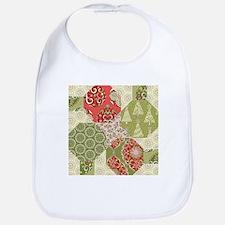 Christmas Quilt Pattern Bib