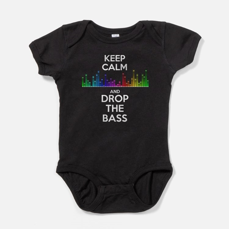 Drop the Bass Baby Bodysuit