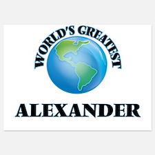 World's Greatest Alexander Invitations