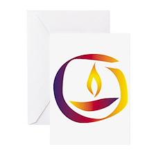 Rainbow Chalice Greeting Cards (Pk of 10)