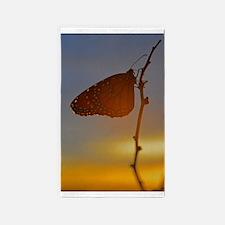 Autumn Butterfly 3'x5' Area Rug
