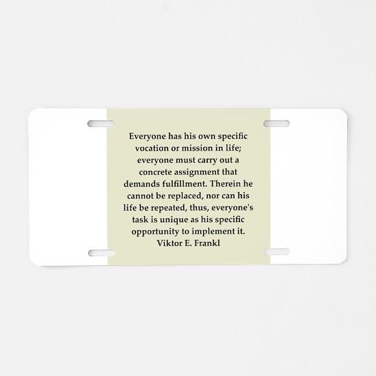 6.png Aluminum License Plate