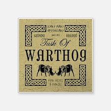 """WARTHOG Square Sticker 3"""" x 3"""""""