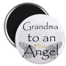 Funny Grandma to an angel Magnet