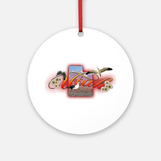 Utah Ornament (Round)