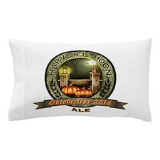 Oktoberfest 2014 Harvest Moon Ale Label Pillow Cas