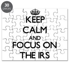 Keep Calm by focusing on The Irs Puzzle