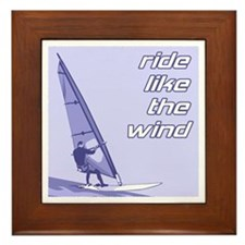 Windsurfing Framed Tile