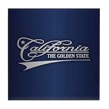 California State of Mine Tile Coaster