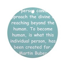 buber1.png Ornament (Round)