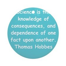 hobbes8.png Ornament (Round)