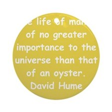 hume13.png Ornament (Round)