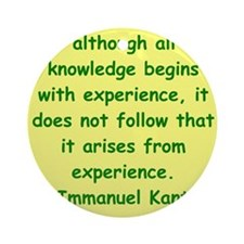 kant12.png Ornament (Round)