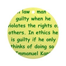 kant16.png Ornament (Round)