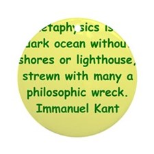 kant19.png Ornament (Round)