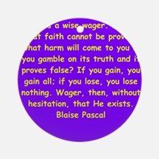 pascal11.png Ornament (Round)
