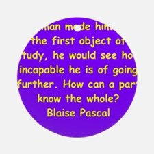 pascal18.png Ornament (Round)