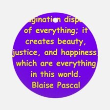 pascal19.png Ornament (Round)