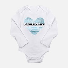 O Own My Life_Blue Heart Body Suit