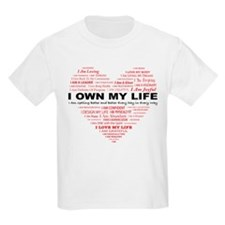 I Own My Life_Red Heart T-Shirt