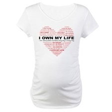 I Own My Life_Red Heart Shirt