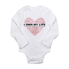 I Own My Life_Red Heart Body Suit