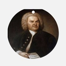BACH.png Ornament (Round)