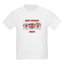 Happy Birthday MASON (clowns) T-Shirt