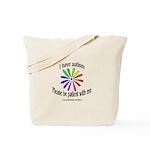 Autism Patience Tote Bag