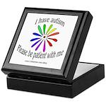 Autism Patience Keepsake Box