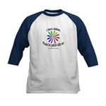 Autism Patience Kids Baseball Jersey