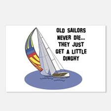 Old Sailors Never Die Postcards (Package of 8)