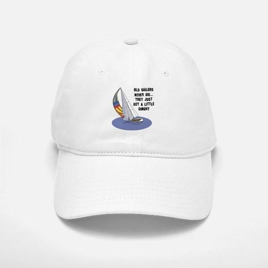 Old Sailors Never Die Baseball Baseball Cap