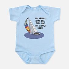 Old Sailors Never Die Infant Bodysuit