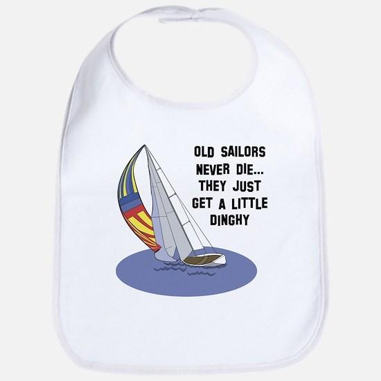 Old Sailors Never Die Bib