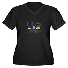Laugh Often Plus Size T-Shirt