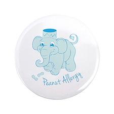 "Peanut Allergy 3.5"" Button (100 pack)"