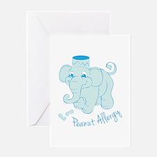 Peanut Allergy Greeting Cards