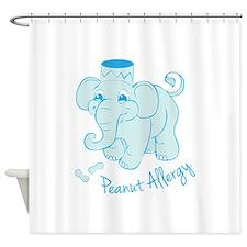 Peanut Allergy Shower Curtain